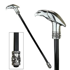 The Dragonsthorne Collection: Piercing Presence Eagle Walking Stick