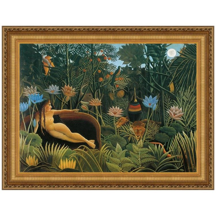 View larger image of The Dream, 1910: Canvas Replica Painting