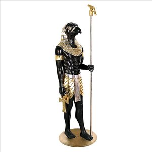 The Egyptian Grand Ruler Collection: Life-Size Horus Statue