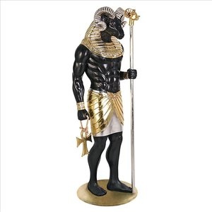 The Egyptian Grand Ruler Collection: Life-Size Khnum Statue