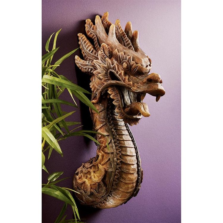 View larger image of The Fire Dragon Wall Sculpture