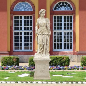 The Four Goddesses of the Seasons Statue: Summer (Statue with Plinth)
