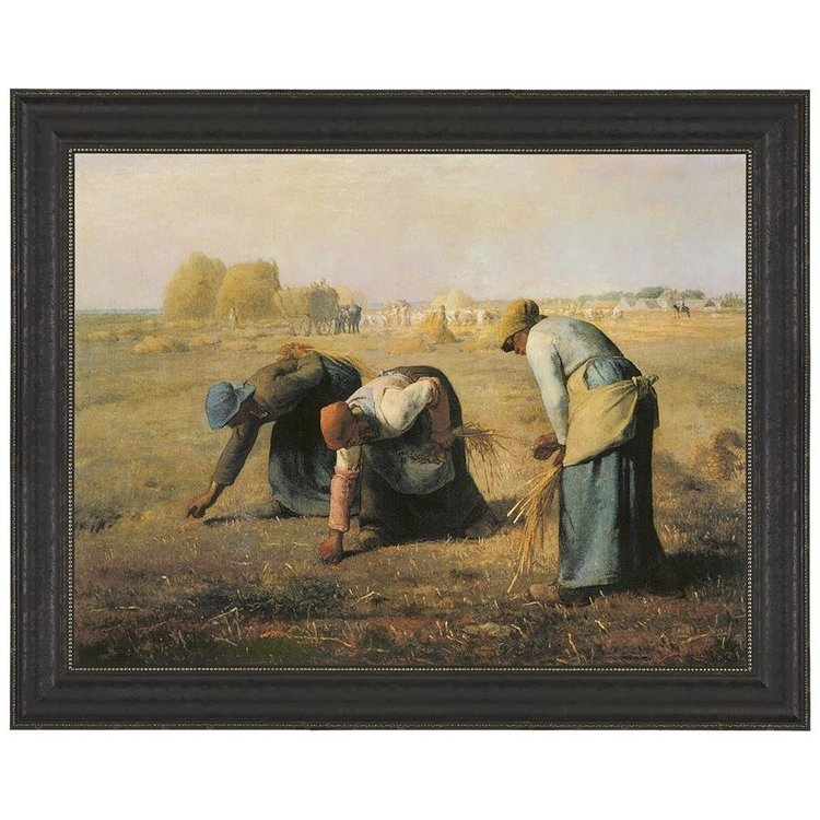 View larger image of The Gleaners, 1857: Canvas Replica Painting