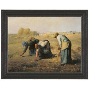 The Gleaners, 1857: Canvas Replica Painting: Small