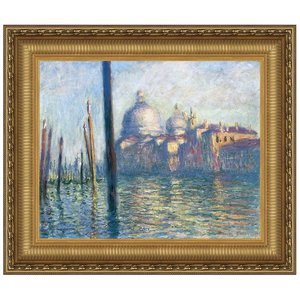 The Grand Canal, Venice, 1908: Canvas Replica Painting: Large