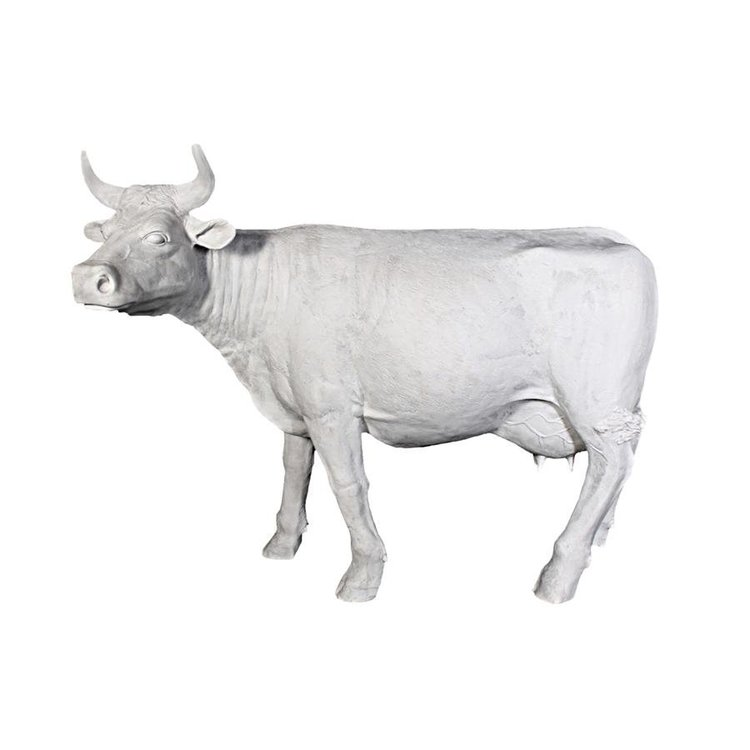 View larger image of The Grand-Scale Wildlife Animal Collection: Holstein Cow Statue: Unpainted