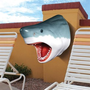 The Great White Shark Wall Mount Trophy Sculpture