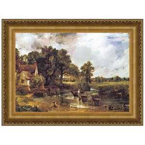 The Hay Wain, 1821: Canvas Replica Painting: Small