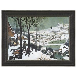 The Hunters in the Snow, 1565: Canvas Replica Painting: Small