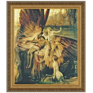 The Lament for Icarus, 1898: Canvas Replica Painting: Small