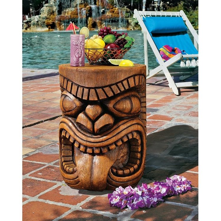 View larger image of The Lono (Tongue) Grand Tiki Sculptural Table