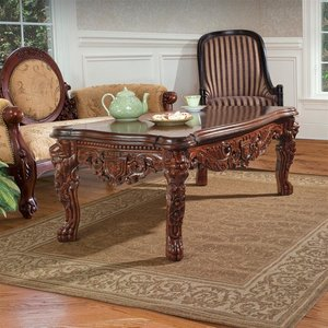The Lord Raffles Grand Hall Lion Coffee Table