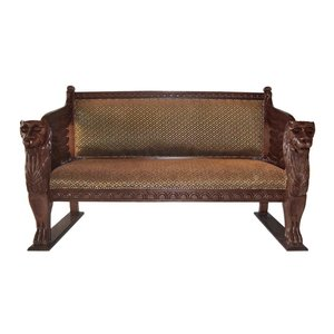 The Lord Raffles Winged Settee