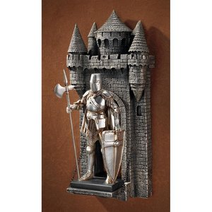 The Medieval Castle at Pierrefonds Gothic Wall Sculpture