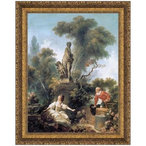 The Meeting, 1772: Canvas Replica Painting: Large