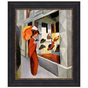 The Milliners by Auguste Macke