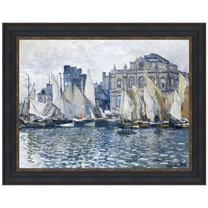 The Museum at Le Havre, 1873: Canvas Replica Painting: Large