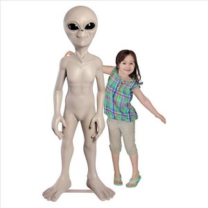 The Out-of-this-World Alien Extra Terrestrial Statue: Giant