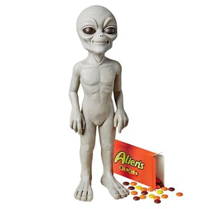 The Out-of-this-World Alien Extra Terrestrial Statue: Small