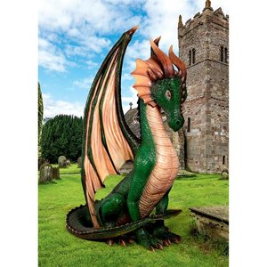 The Giant Papplewick Boggs Dragon Statue