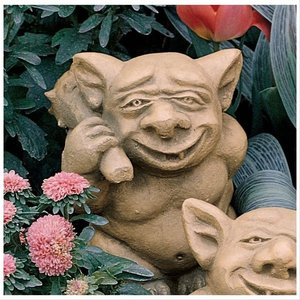 The Picc-a-Dilly Bum Gargoyle Statue