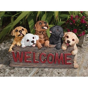 The Puppy Parade Welcome Sign