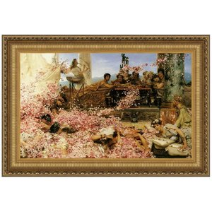 The Roses of Heliogabalus, 1888, Canvas Replica Painting: Grande