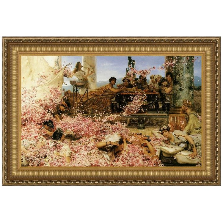 View larger image of The Roses of Heliogabalus, 1888: Canvas Replica Painting: Large