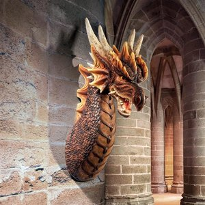 The Ruthless Knavesmire Dragon Wall Sculpture