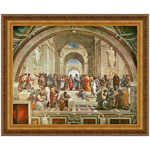 The School of Athens, 1510: Canvas Replica Painting: Large