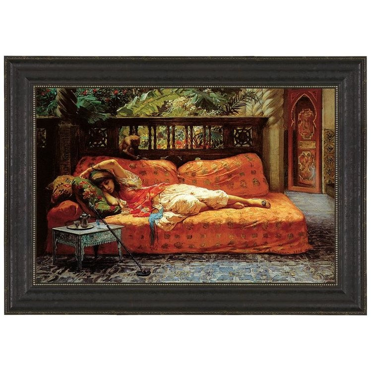 View larger image of The Siesta (Afternoon in Dreams), 1878: Canvas Replica Painting