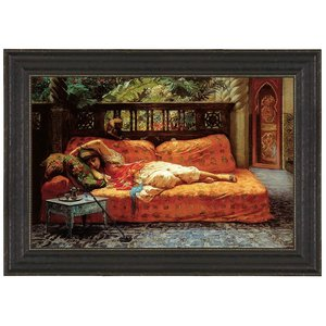 The Siesta (Afternoon in Dreams), 1878: Canvas Replica Painting: Small