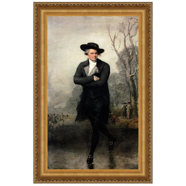 View larger image of The Skater, 1782 Canvas Replica Painting: Medium