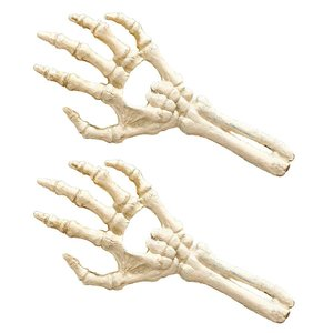 The Skeleton Hand of Destiny Cast Iron Bottle Openers: Set of Two