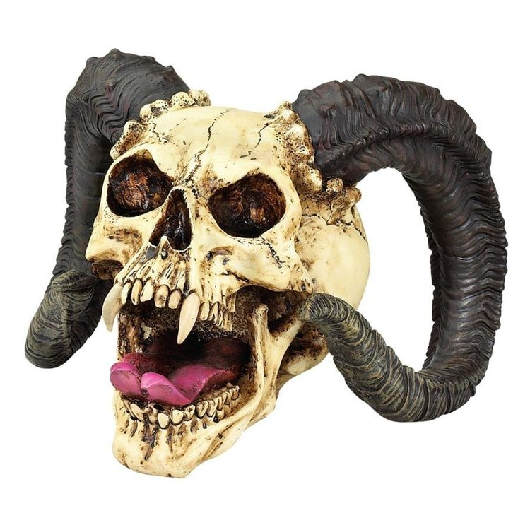 View larger image of The Skull of the Horned Beast Sculpture