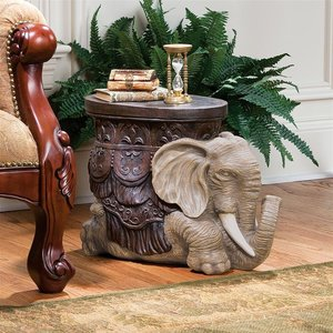 The Sultans Elephant Sculptural Side Table