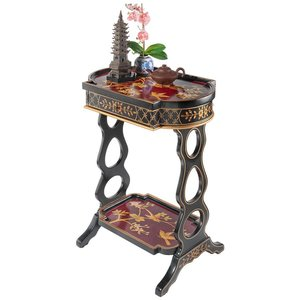The Terrace of Shanghua Asian Style Lacquered Side Table