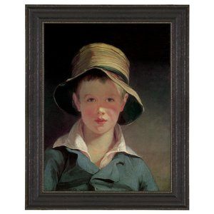The Torn Hat, 182 Canvas Replica Painting: Grande