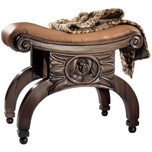 The Venetian Leather Taboret