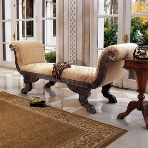 The Veronique Double Rolled-Arm Chaise