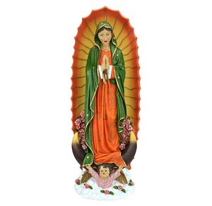 The Virgin of Guadalupe Religious Statue: Large