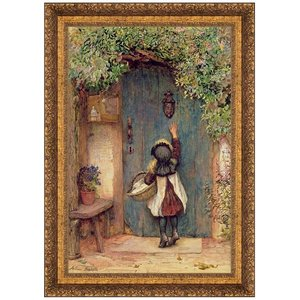 The Visitor, Canvas Replica Painting: Large