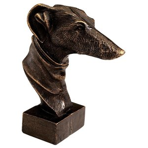 The Whippet Greyhound Foundry Iron Statue