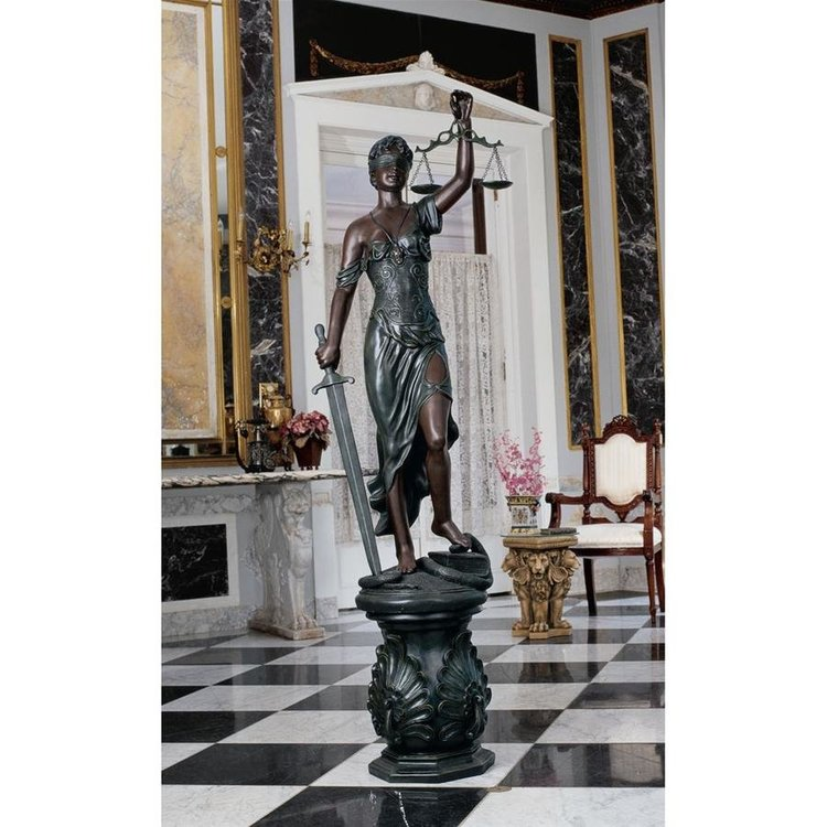 View larger image of Themis, Goddess of Blind Justice Law Statue