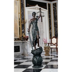 Themis, Goddess of Blind Justice Law Statue