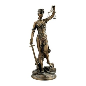 Themis, Goddess of Justice Sculpture: Large