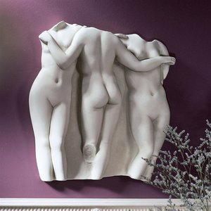Three Graces Wall Fragment: Large Scale