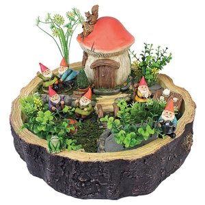Tiny Forest Friends Gnome Garden Statue Collection