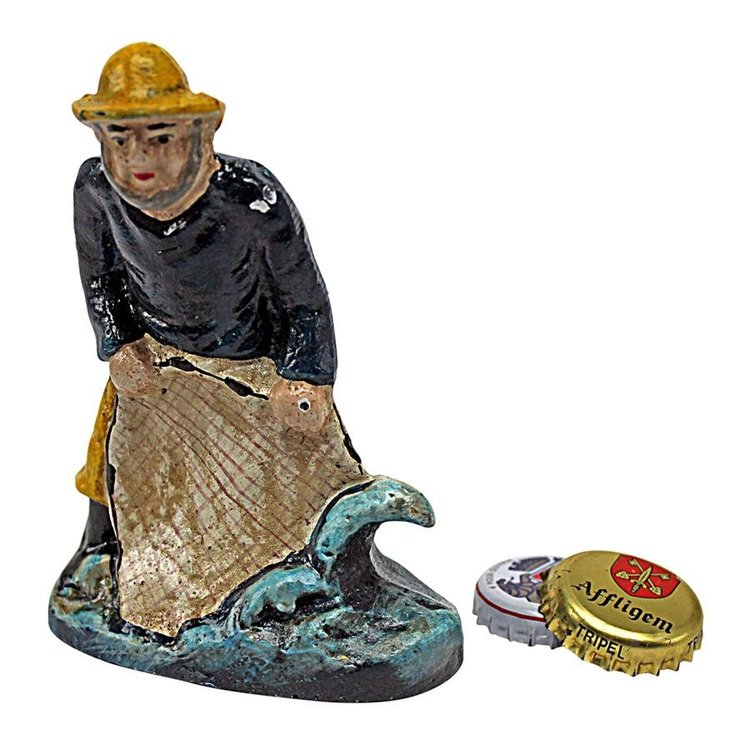 View larger image of Today's Catch: Fisherman Cast Iron Bottle Opener