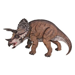 Triceratops Scaled Dinosaur Statue